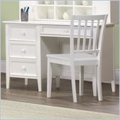Homelegance Whimsy Writing Desk in White Finish