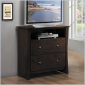 Homelegance Avelar TV Chest in Cherry