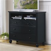 Homelegance Sanibel TV Chest in Black
