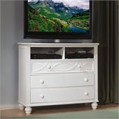 Homelegance Sanibel TV Chest in White