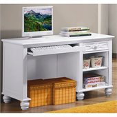 Homelegance Sanibel Writing Desk in White