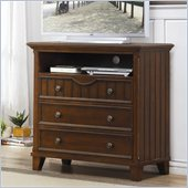 Homelegance Alyssa TV Chest in Cherry
