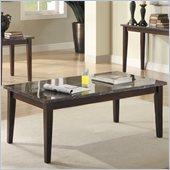 Homelegance Decatur Coffee Table in Espresso
