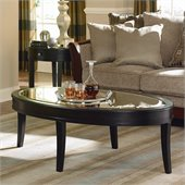 Homelegance Brooksby Cocktail Table in Ebonized Cherry