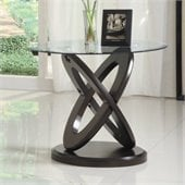 Homelegance Firth II End Table in Cherry