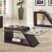 Homelegance Jensen Cocktail Table in Espresso 