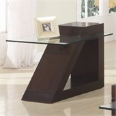 Homelegance Jensen End Table in Espresso
