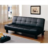 Homelegance Olivia Tess Elegant Lounger in Black