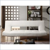 Homelegance Drake Elegant Lounger in White