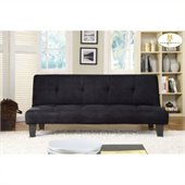 Homelegance Albert Elegant Lounger in Black