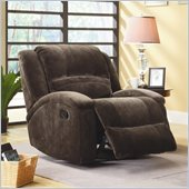 Homelegance Alejandro Recliner Chair in Chocolate