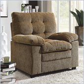 Homelegance Charley Chair in Brown Chenille