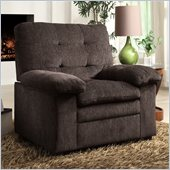 Homelegance Charley Chair in Chocolate Chenille