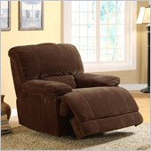 Homelegance Sullivan Power Recliner Chair in Dark Brown