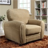 Homelegance Rubin Chair in Light Brown