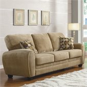 Homelegance Rubin Sofa in Light Brown