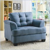 Homelegance St. Charles Chair in Blue Grey