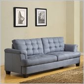 Homelegance St. Charles Sofa in Blue Grey
