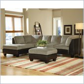 Homelegance The Royce 2 Piece Sectional in Herbal Bella