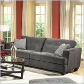 Homelegance Maya Sofa in Grey Chenille