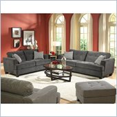 Homelegance Maya 3 Piece Sofa Set in Chenille