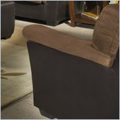 Homelegance Wexford Chair in Dark Brown