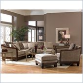 Homelegance Trenton Sofa Set in Dark Tan Chenille