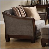 Homelegance Trenton Chair in Grey