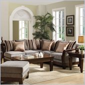 Homelegance Trenton Sectional in Grey