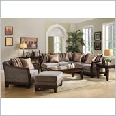 Homelegance Trenton Sofa Set in Grey