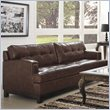 ADD TO YOUR SET: Homelegance Hodley Sofa in Brown Bonded Leather