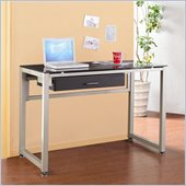 Homelegance Network Computer Desk in Champagne