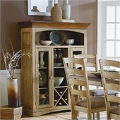 Homelegance Nash Curio in Oak