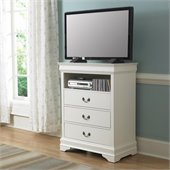 Homelegance Marianne TV Chest in White