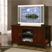 Homelegance Ian Lynman 48 RTA TV Stand in Cherry Finish