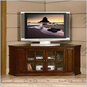 Homelegance Hayden 62 RTA Corner TV Stand in Cherry Finish