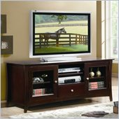 Homelegance Borgeois TV Stand  in Espresso Finish