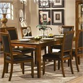 Homelegance Avalon Dining Table in Low Sheen Cherry Finish