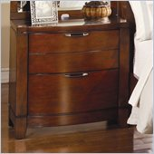 Homelegance Hamilton Nightstand in Brown Cherry Finish