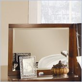 Homelegance Hamilton Nightstand Mirror Panel in Brown Cherry