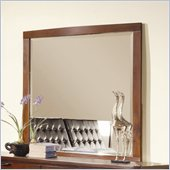 Homelegance Hamilton Mirror in Brown Cherry Finish