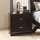 Homelegance Astrid Nightstand in Espresso Finish