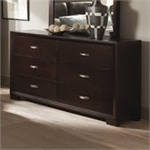 Homelegance Astrid Dresser in Espresso Finish