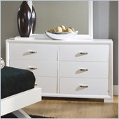 Homelegance Astrid Dresser in White Finish