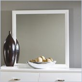 Homelegance Astrid Mirror in White Finish