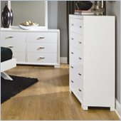 Homelegance Astrid Chest in White Finish
