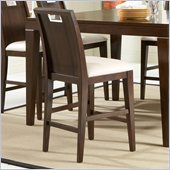 Homelegance Keller Counter Height Chair in Deep Brown(Set of 2)