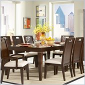 Homelegance Keller Dining Table in Deep Brown