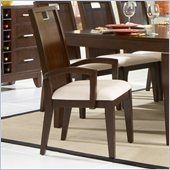 Homelegance Keller Arm Chair in Deep Brown(Set of 2)