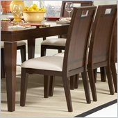 Homelegance Keller Side Chair in Deep Brown(Set of 2)